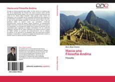 Bookcover of Hacia una   Filosofía Andina