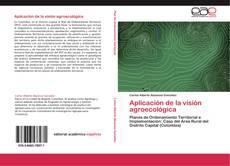 Aplicación de la visión agroecológica的封面