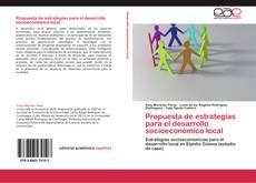 Обложка Propuesta de estrategias para el desarrollo socioeconómico local
