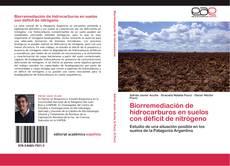 Copertina di Biorremediación de hidrocarburos en suelos con déficit de nitrógeno