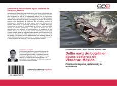 Portada del libro de Delfín nariz de botella en aguas costeras de Veracruz, México