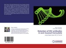 Copertina di Detection of HIV antibodies in oral mucosal transudate