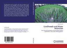 Couverture de Livelihoods and Water Resources