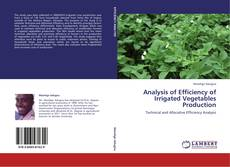 Bookcover of Analysis of Efficiency of Irrigated Vegetables Production