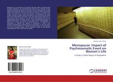 Bookcover of Menopause: Impact of Psychosomatic Event on Women's Life