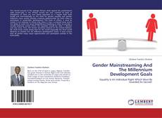 Capa do livro de Gender Mainstreaming And The Millennium Development Goals