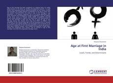 Copertina di Age at First Marriage in India