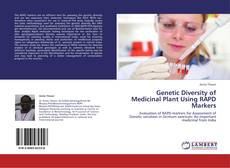 Bookcover of Genetic Diversity of Medicinal Plant Using RAPD Markers