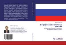 Bookcover of Социальная политика   России
