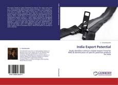 Borítókép a  India Export Potential - hoz
