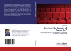 """Bookcover of Directing """"Six Degrees of Separation"""""""