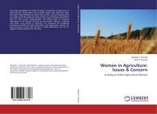 Buchcover von Women in Agriculture: Issues & Concern