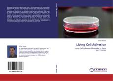 Bookcover of Living Cell Adhesion