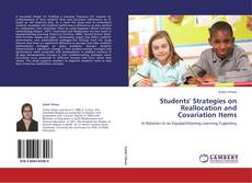 Bookcover of Students' Strategies on Reallocation and Covariation Items