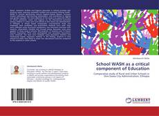 Capa do livro de School WASH as a critical component of Education