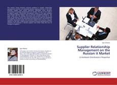 Bookcover of Supplier Relationship Management on the Russian it Market