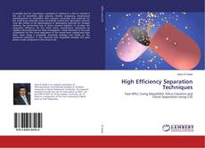 Bookcover of High Efficiency Separation Techniques
