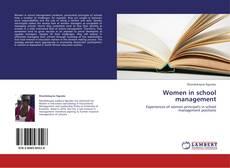 Bookcover of Women in school management