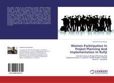Copertina di Women Participation In Project Planning And Implementation In Rufiji