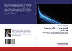 Bookcover of Thermal effects in optical systems