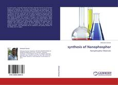 Buchcover von synthesis of Nanophosphor