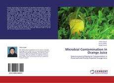 Portada del libro de Microbial Contamination in Orange Juice