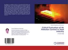 Buchcover von Critical Evaluation of Air Pollution Control  in Steel Industry