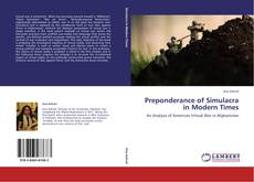 Preponderance of Simulacra in Modern Times的封面