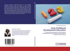 Bookcover of Early Childhood Development Education