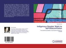 Portada del libro de Indigenous Peoples' Right to Self-Determination