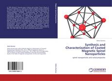 Portada del libro de Synthesis and Characterization of Coated Magnetic Spinel Nanoparticles