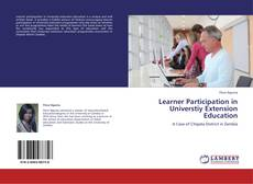 Bookcover of Learner Participation in Universtiy Extension Education