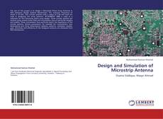Couverture de Design and Simulation of Microstrip Antenna