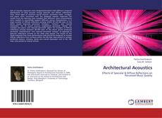 Bookcover of Architectural Acoustics