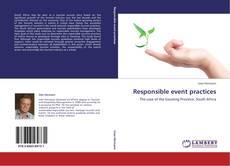 Couverture de Responsible event practices
