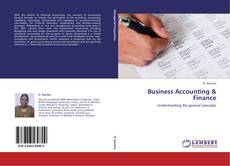 Buchcover von Business Accounting & Finance