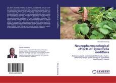 Buchcover von Neuropharmacological effects of Synedrella nodiflora