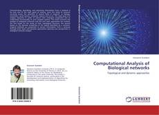 Bookcover of Computational Analysis of Biological networks