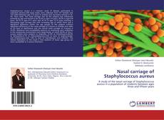 Couverture de Nasal carriage of Staphylococcus aureus