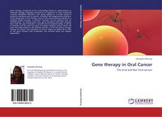 Gene therapy in Oral Cancer kitap kapağı