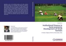 Copertina di Institutional Finance in Socio-economic Development of Small Farmers