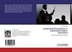 Bookcover of Leadership Perceptions in Indonesian Higher Education