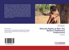Bookcover of Minority Rights at Risk: The Batwa'S Settlement Predicament