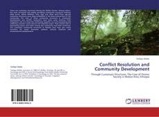 Capa do livro de Conflict Resolution and Community Development