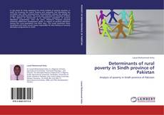 Determinants of rural poverty in Sindh province of Pakistan的封面