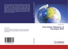 Bookcover of Sino-Indian Relations: A Paradigm Shift