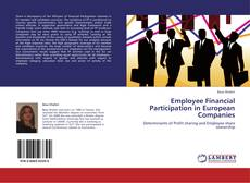 Buchcover von Employee Financial Participation in European Companies