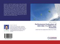 Portada del libro de Performance Evaluation of IEEE 802.11e MAC layer Protocols