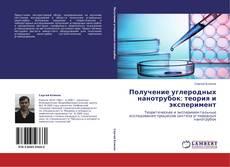 Обложка Получение углеродных нанотрубок: теория и эксперимент