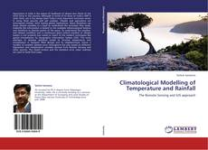 Bookcover of Climatological Modelling of Temperature and Rainfall
